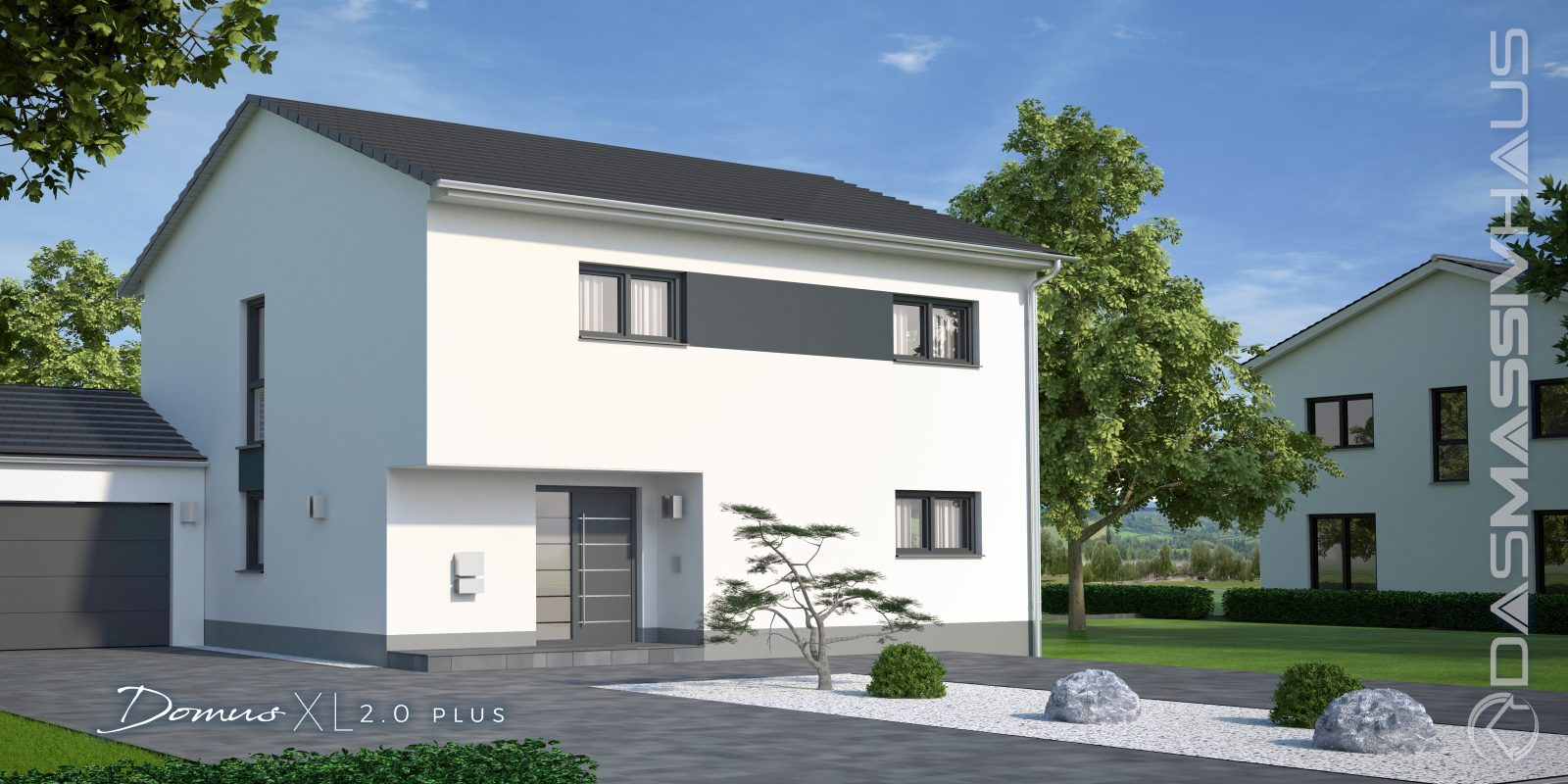 Hausbesichtigung Eines Domus Xl In 41569 Rommerskirchen Dasmassivhaus